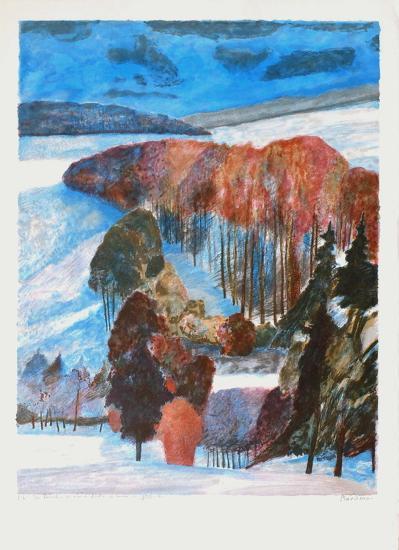 Forêt en automne-Guy Bardone-Premium Edition