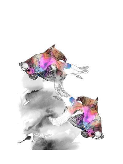 Forever Fish-Nina Dogmetchi-Giclee Print