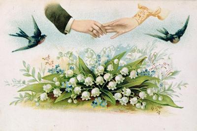 Forever Yours Victorian Valentine--Giclee Print