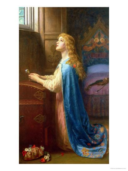 Forget Me Not-Arthur Hughes-Giclee Print