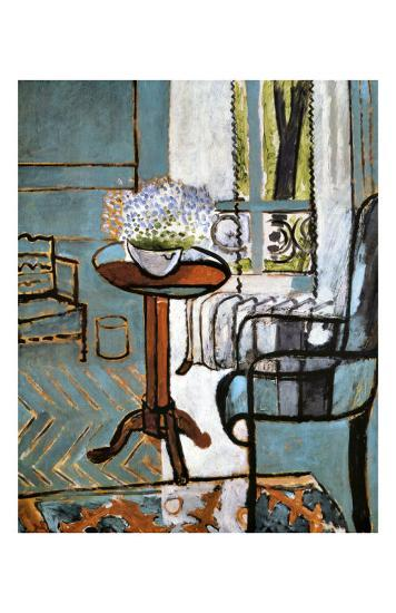 Forget-Me-Nots in the Window-Henri Matisse-Giclee Print