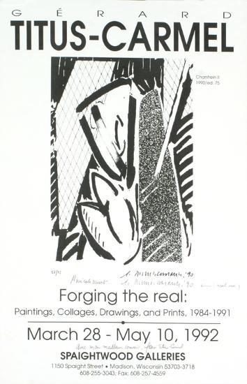 Forging the Real-Gerard Titus-Carmel-Collectable Print