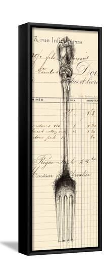 Fork Document-Z Studio-Framed Canvas Print