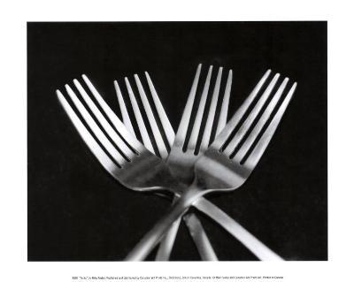Forks-Mike Feeley-Art Print