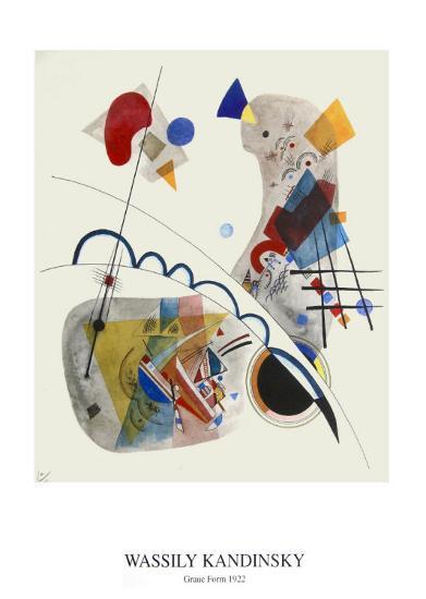 Form-Wassily Kandinsky-Art Print