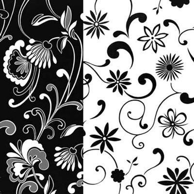 Formas Florales I--Art Print