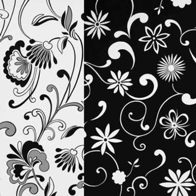 Formas Florales II--Art Print