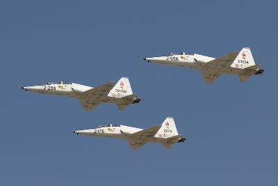Formation of Turkish Air Force T-38A Talon's over Izmir, Turkey-Stocktrek Images-Photographic Print