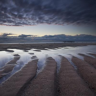 Formations Made of Sand Close to Rantum (Village), Sylt (Island), Schleswig-Holstein, Germany-Rainer Mirau-Photographic Print