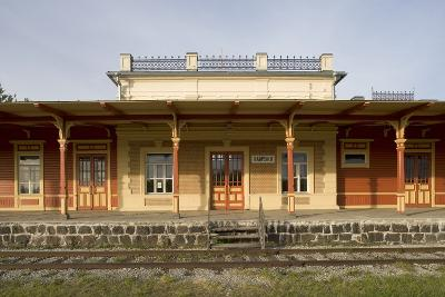 Former Railway Station (1904) Which Now Houses Museum of Estonian Railways--Photographic Print