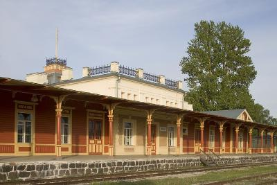 Former Railway Station (1904) Which Now Houses the Museum of Estonian Railways--Photographic Print