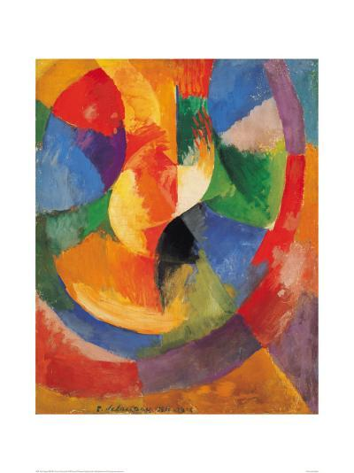 Formes Circulaires-Soleil #3-Robert Delaunay-Giclee Print