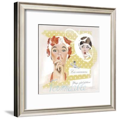 Formidable-Lizie-Framed Art Print