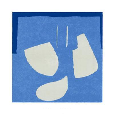 Forms, c.2004-Carl Abbott-Serigraph