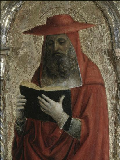 Fornari Polyptych-Detail of Saint Jerome-Vincenzo Foppa-Giclee Print
