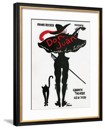 Fornaro Don Juan--Framed Art Print