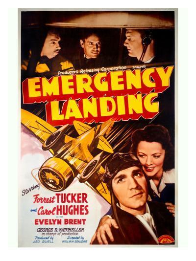 Forrest Tucker Emergency Landing Poster--Giclee Print