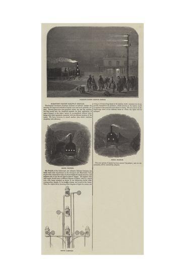 Forsyth's Patent Railway Signals--Giclee Print
