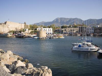 Fort and Harbour, Kyrenia, North Cyprus, Mediterranean, Europe-Philip Craven-Photographic Print