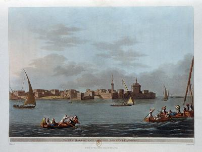 Fort and Harbour of Aboukir, Ancient Canopus, Egypt, 1801-Thomas Milton-Giclee Print