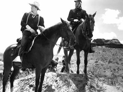 Fort Apache, John Wayne, Henry Fonda, 1948--Photo
