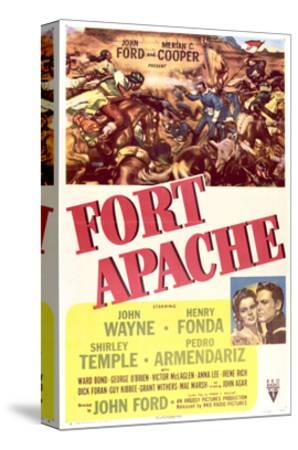 Fort Apache - Movie Poster Reproduction