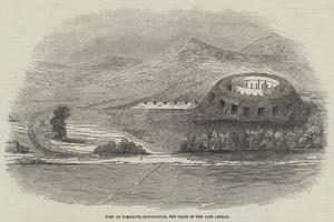 Fort at Tamatave, Madagascar, the Scene of the Late Affray