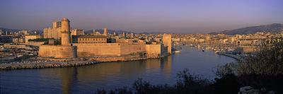 Fort at the Seaside, Fort Saint-Jean, Marseille, Bouches-Du-Rhone, Provence-Alpes-Cote D'Azur, F...--Photographic Print