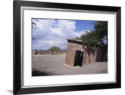 Fort Charles, Port Royal, Jamaica--Framed Photographic Print