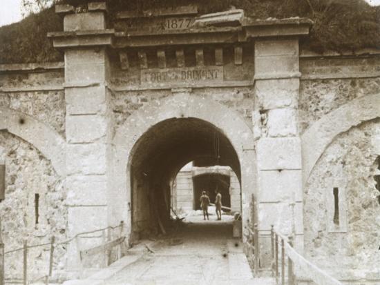 Fort de Brimont, Reims, northern France, c1914-c1918-Unknown-Photographic Print