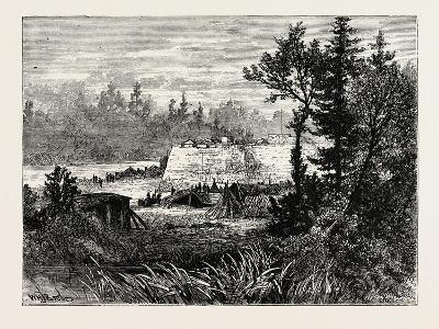 Fort Duquesne, USA, 1870S--Giclee Print