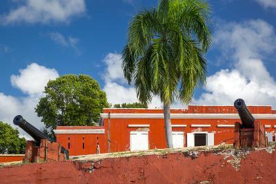 Fort Frederik in Frederiksted, St. Croix, Us Virgin Islands-Brian Jannsen-Photographic Print