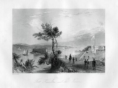 Fort Hamilton and the Narrows, New York, 1855-FO Freeman-Giclee Print