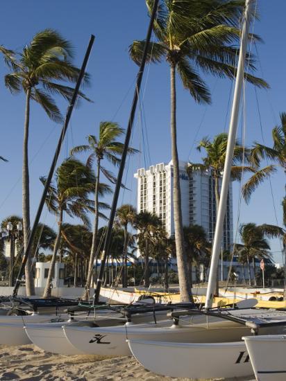 Fort Lauderdale Beach, Fort Lauderdale, Florida-Walter Bibikow-Photographic Print