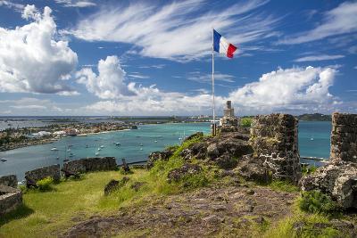 Fort Louis Overlooking Marigot Bay, Marigot, Saint Martin, West Indies-Brian Jannsen-Photographic Print