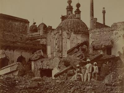 Fort Lucknow After the Indian Mutiny, 1857-Felice Beato-Photographic Print
