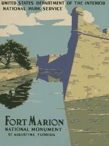 Fort Marion National Monument, St. Augustine, Florida, c.1938