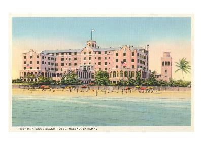 Fort Montague Beach Hotel, Nassau, Bahamas--Art Print