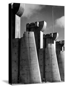 Fort Peck Dam, in the Missouri River: Image Used on First Life Magazine Cover, November 23, 1936