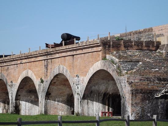 Fort Pickens Arches-Charles F Olson-Photographic Print
