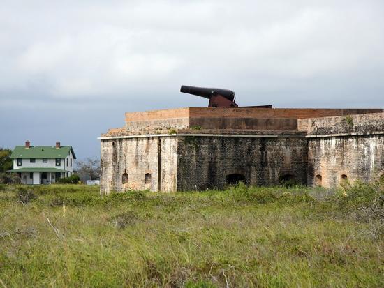 Fort Pickens, Pensacola, Florida-William Silver-Photographic Print