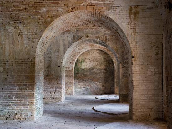 Fort Pickens Was Completed in 1834 and is Part of the Gulf Islands National Seashore in Florida.-Sherry Yates Young-Photographic Print