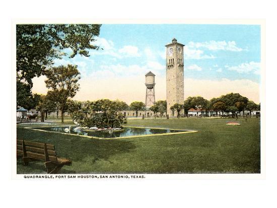 Fort Sam Houston, San Antonio, Texas--Art Print