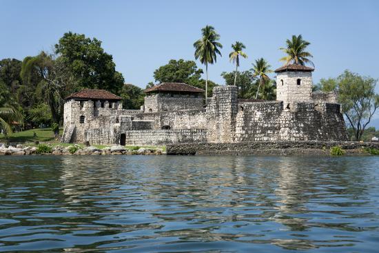 Fort San Felipe de Lara, Rio Dulce, Guatemala, Central America-Peter Groenendijk-Photographic Print