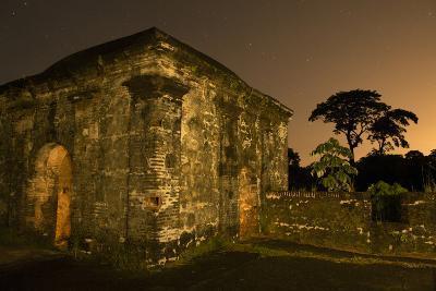 Fort San Lorenzo Under a Starry Night Sky in Panama-Jonathan Kingston-Photographic Print
