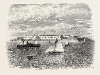 Fort Warren, USA, 1870s--Giclee Print