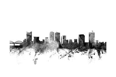 Fort Worth Texas Skyline-Michael Tompsett-Art Print