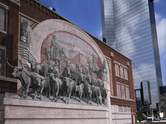 Fort Worth, Texas, USA-Charles Bowman-Photographic Print