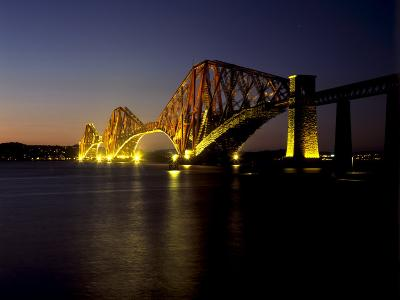 Forth Rail Bridge, Built Between 1883 and 1890, Fife, Scotland-Patrick Dieudonne-Photographic Print