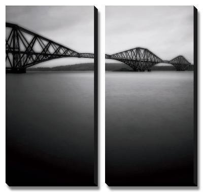 Forth Rail Bridge I-Jamie Cook-Canvas Art Set